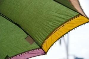 日傘のアップ写真