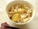 美味しい栗ご飯が簡単に作れる!「手むき栗」がとっても便利