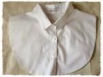 白シャツを重ね着しても着太りしない!スタイルデリの「襟だけ白シャツ」