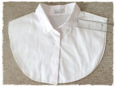 スタイルデリ 襟だけ白シャツ