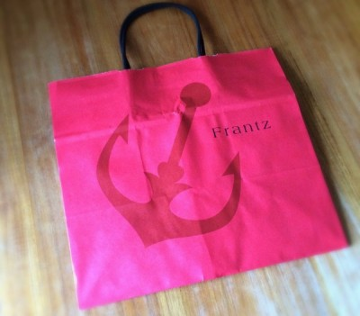 神戸フランツの紙袋